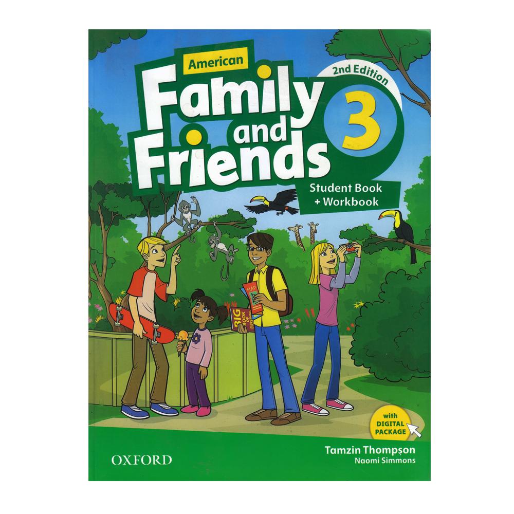 خرید                      کتاب American Family And Friends 3 اثر Tamzin Thompson And Noami Simmons انتشارات Oxford