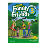 کتاب American Family And Friends 3 اثر Tamzin Thompson And Noami Simmons انتشارات Oxford