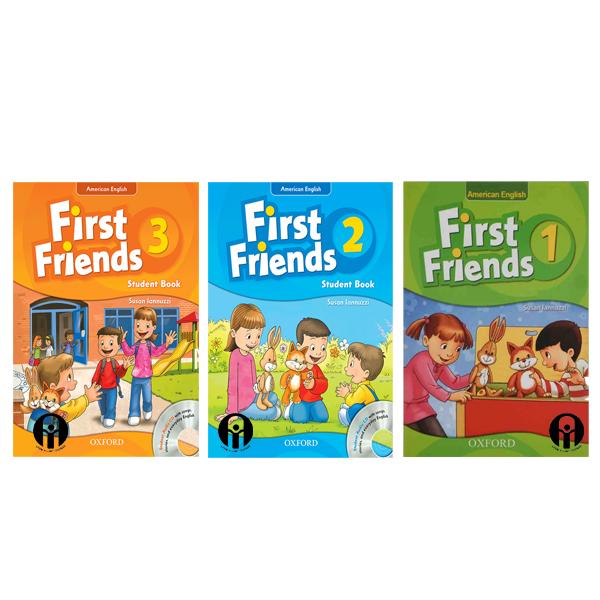 خرید                      کتاب First Friends اثر Susan Lannuzzi انتشارات الوندپویان 3 جلدی