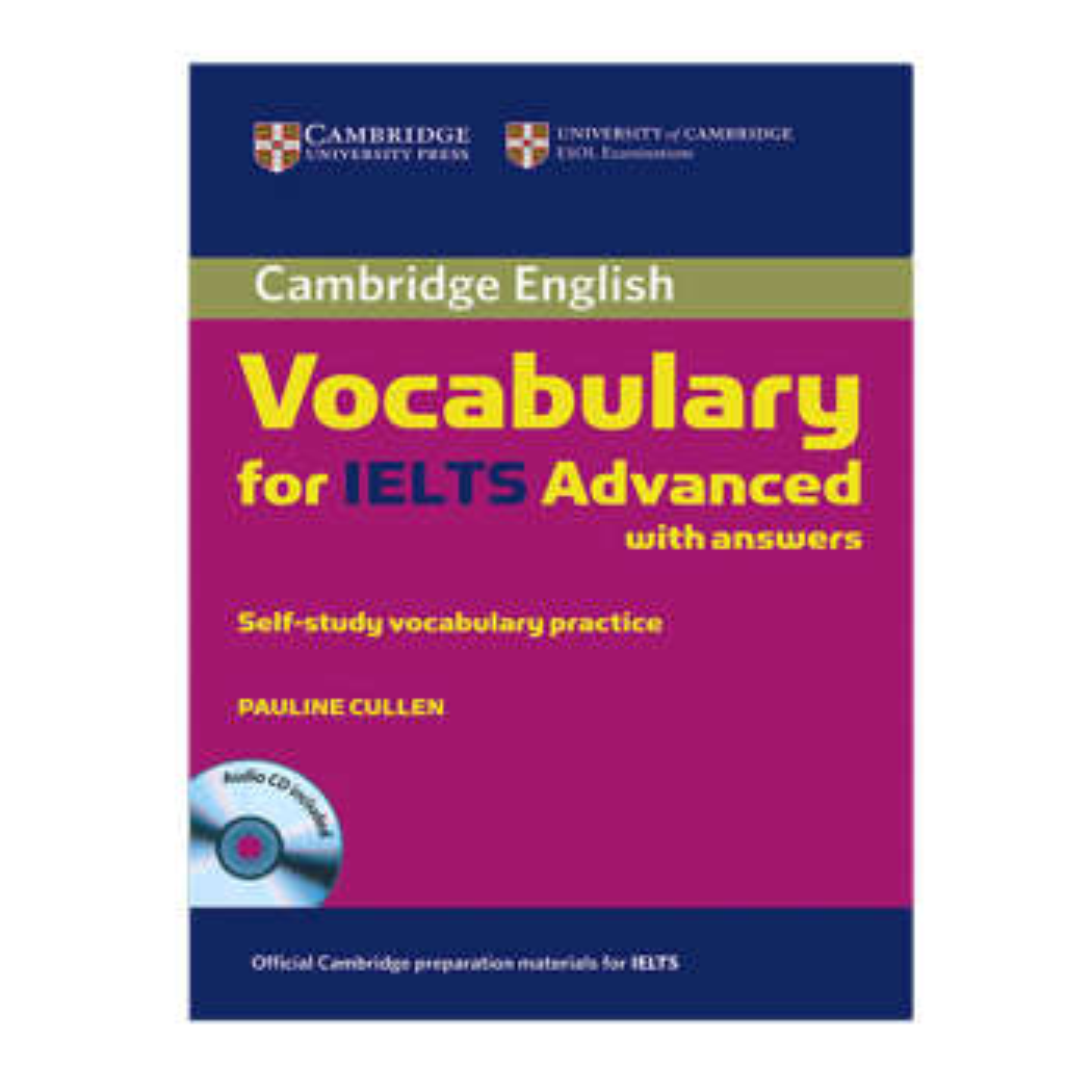 کتاب Vocabulary For Ielts Advanced اثر Pauline Cullen انتشارات Cambridge