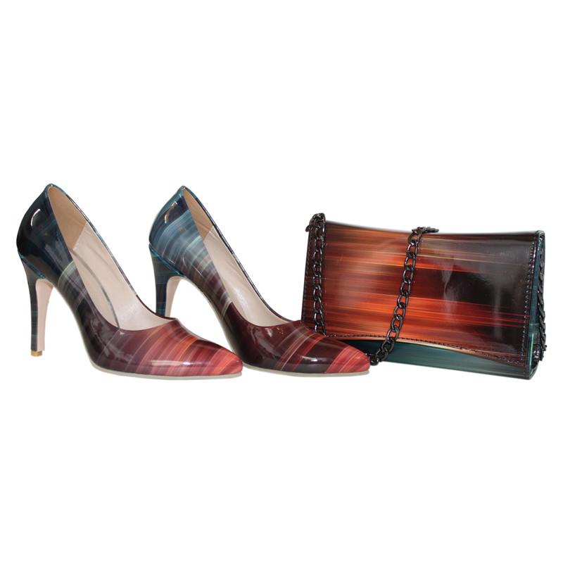 ست کیف و کفش زنانه کد 318