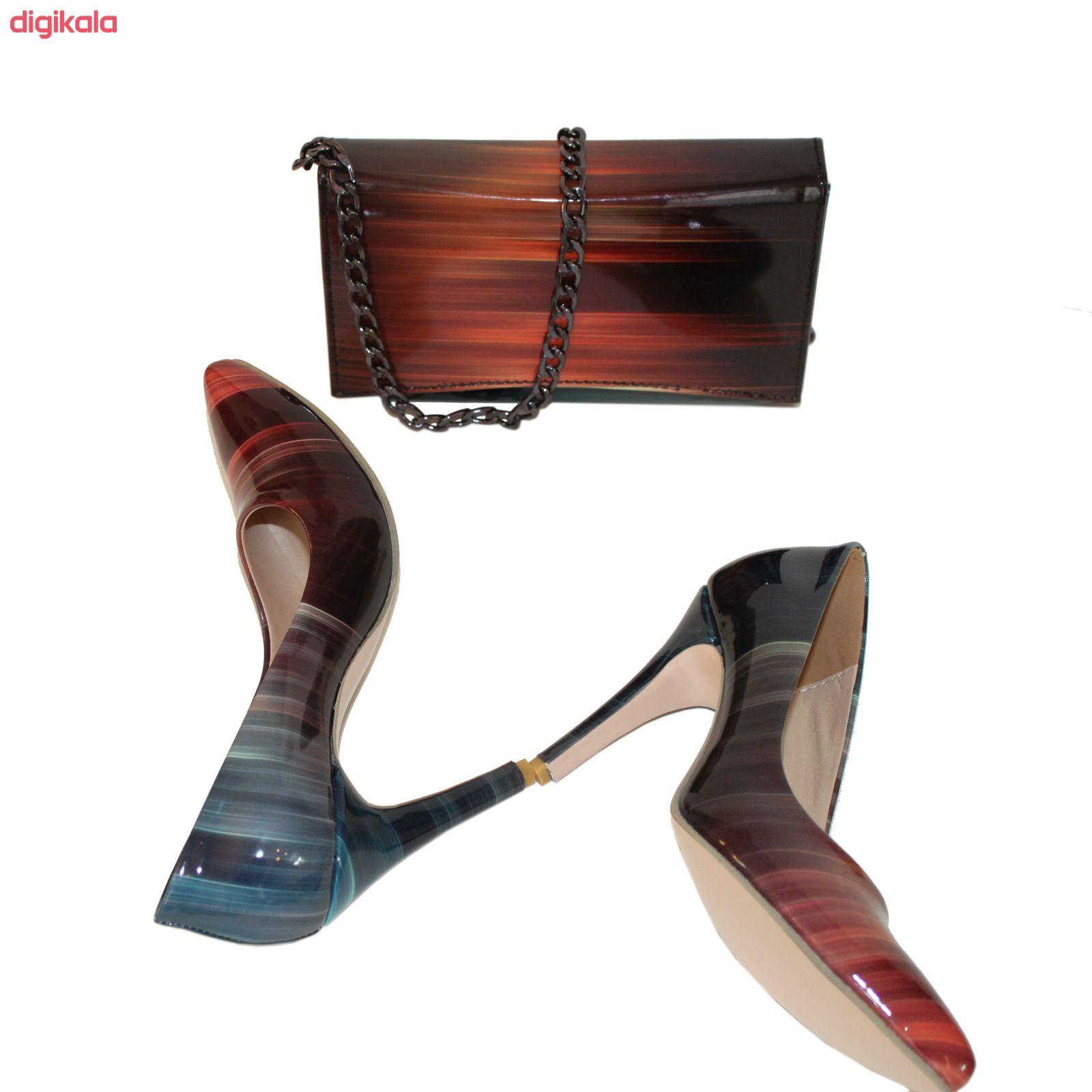 ست کیف و کفش زنانه کد 318 main 1 3