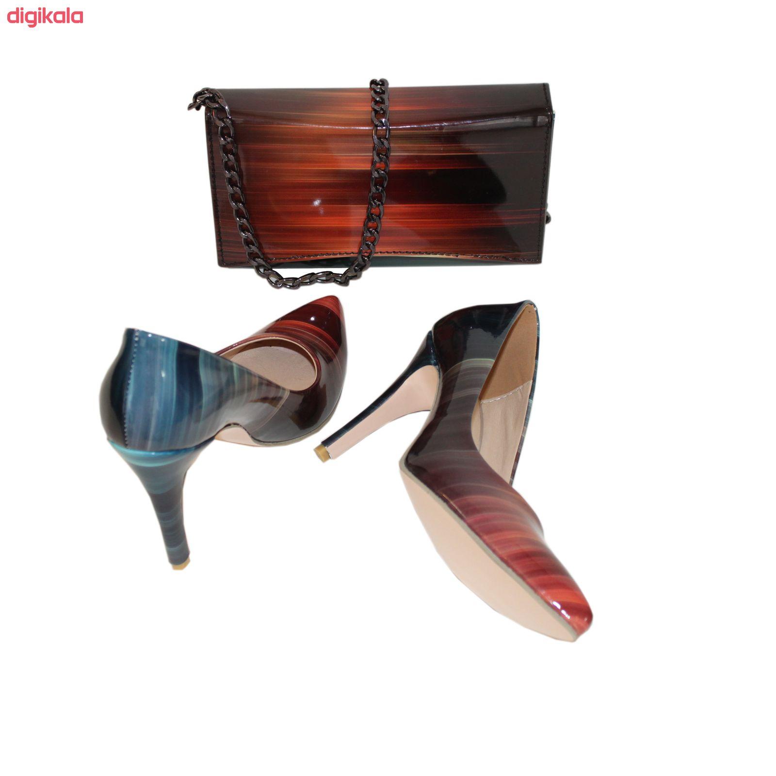 ست کیف و کفش زنانه کد 318 main 1 4