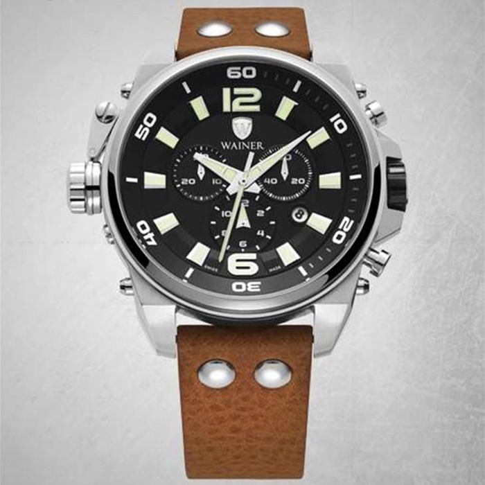 ساعت مچی عقربه ای مردانه واینر مدل WA.10980-E