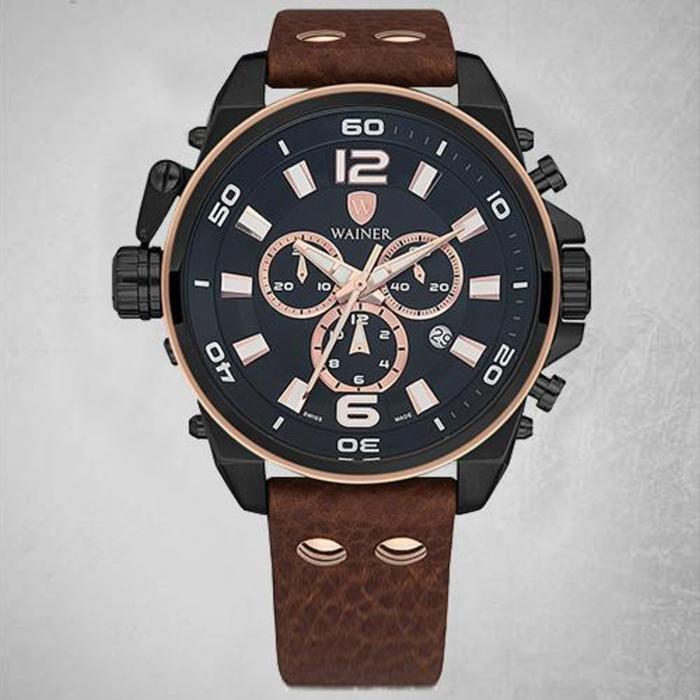 کد تخفیف                                      ساعت مچی عقربه ای مردانه واینر مدل WA.10980-U