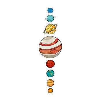 استیکر لپ تاپ طرح کهکشان کد 1783