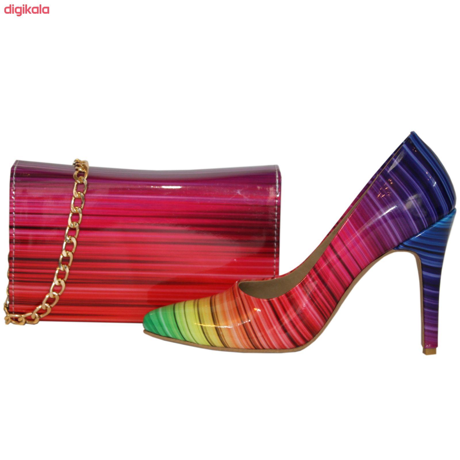 ست کیف و کفش زنانه کد 326 main 1 1