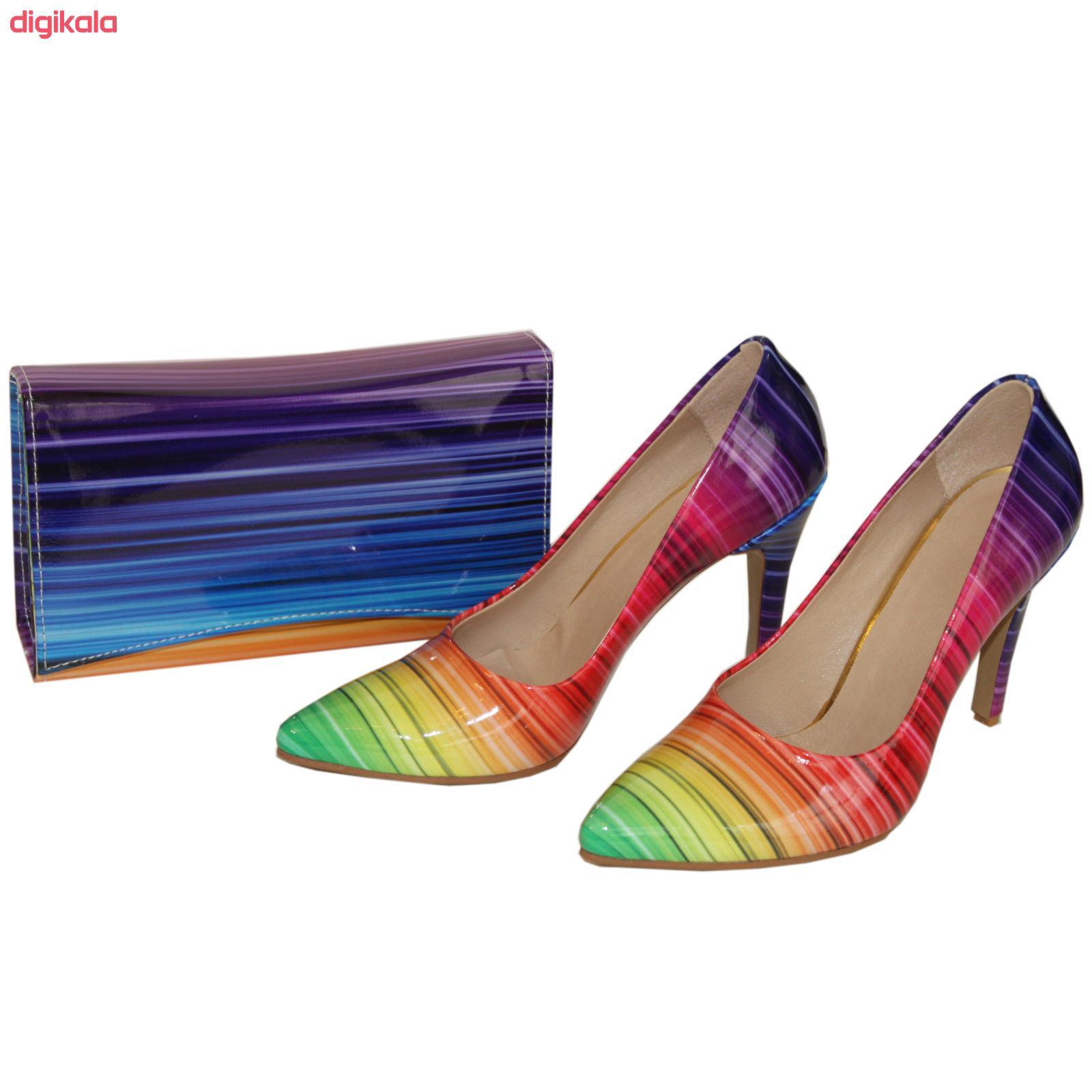 ست کیف و کفش زنانه کد 326 main 1 3