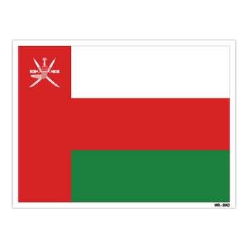 استیکر مستر راد طرح پرچم عمان مدل HSE 181