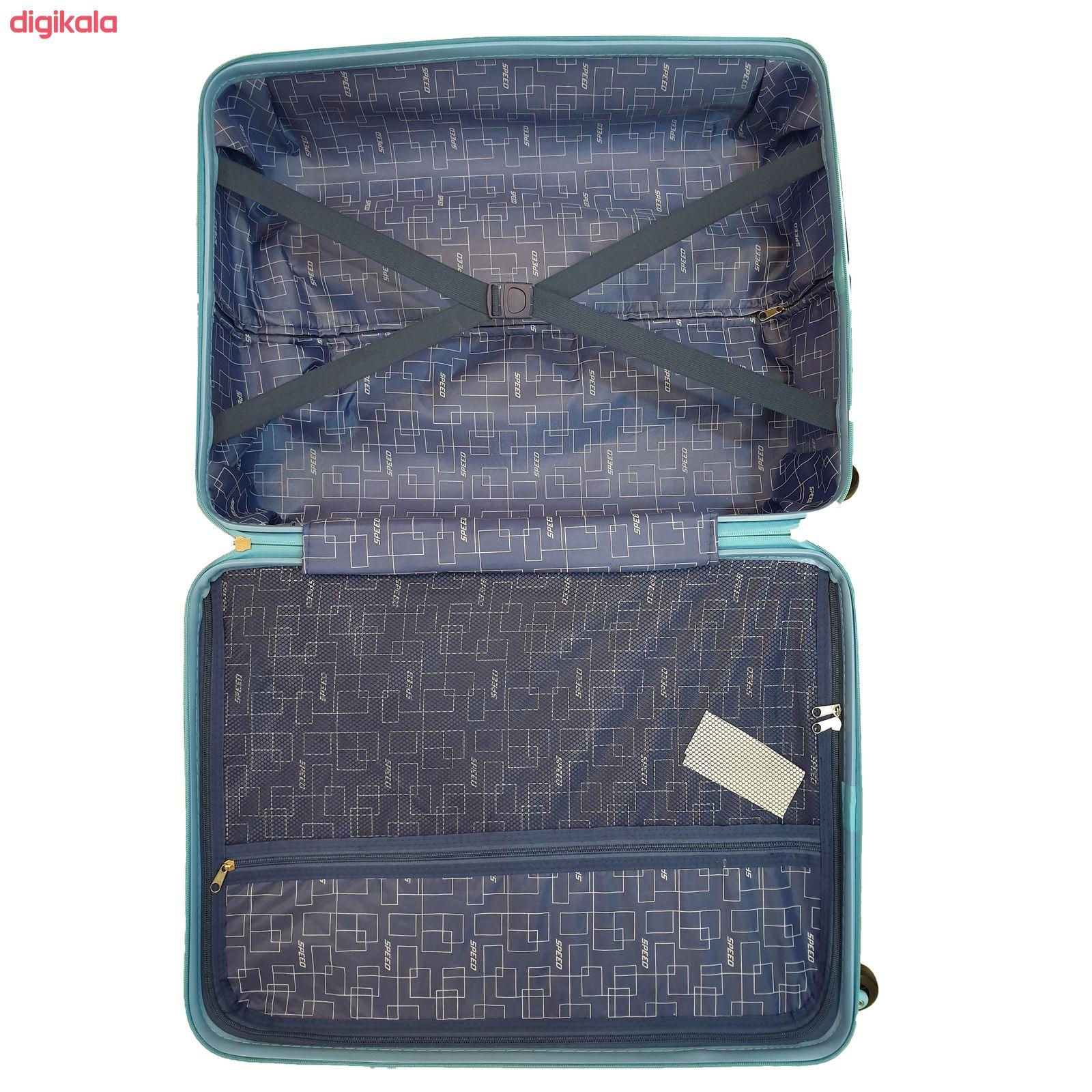 مجموعه سه عددی چمدان اسپید کد B016 main 1 3