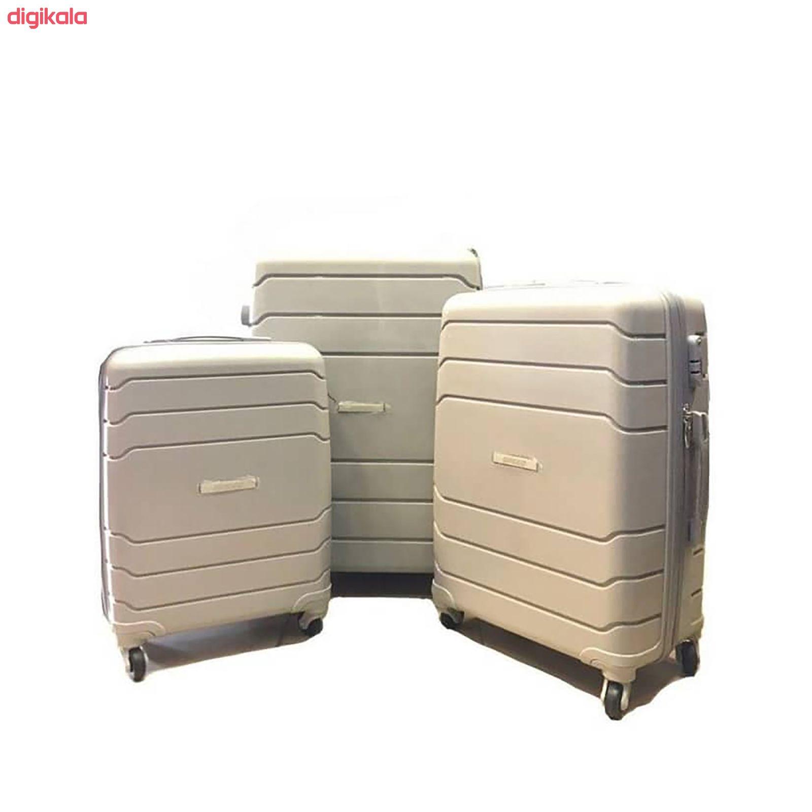 مجموعه سه عددی چمدان اسپید کد B016 main 1 4