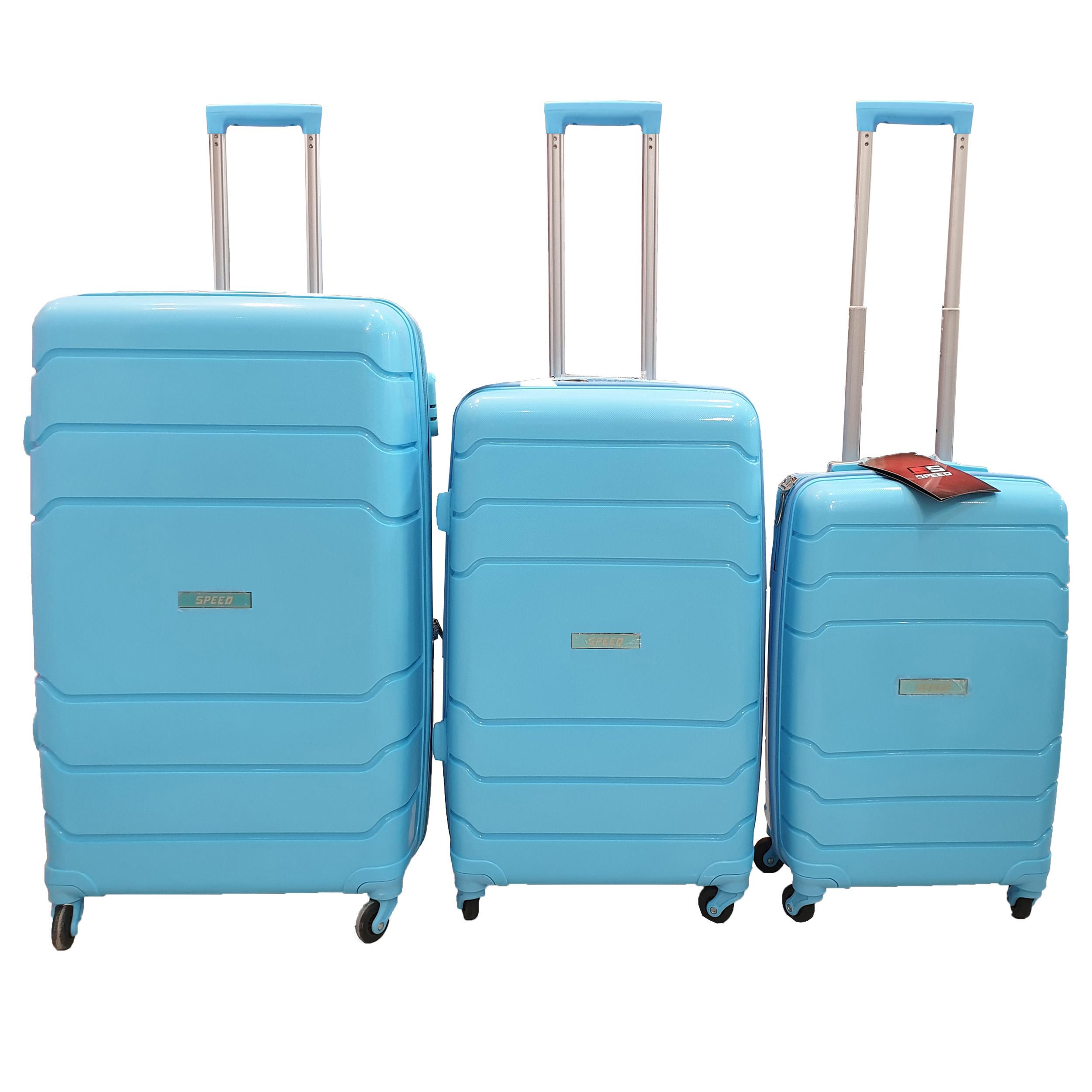 مجموعه سه عددی چمدان اسپید کد B016