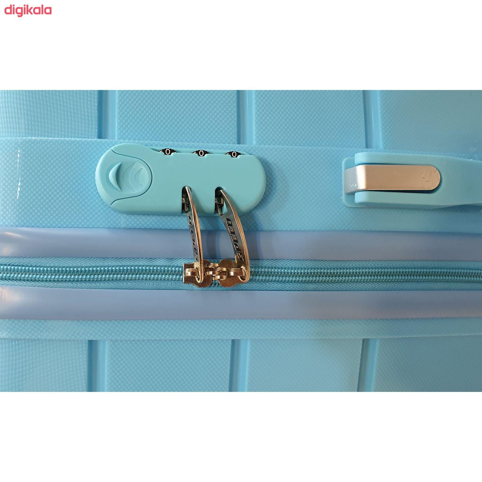 مجموعه سه عددی چمدان اسپید کد B016 main 1 7
