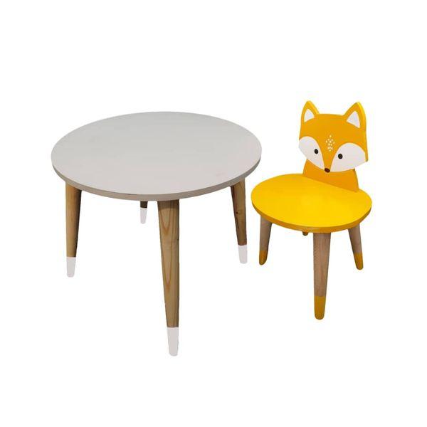 ست میز و صندلی کودک مدل Fox