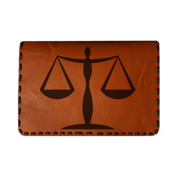 جاکارتی مردانه طرح ترازوی عدالت کد L25