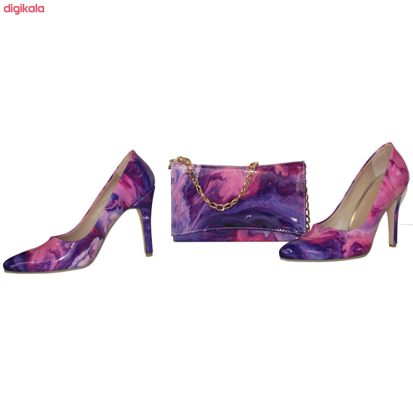 ست کیف و کفش زنانه کد 301 main 1 2
