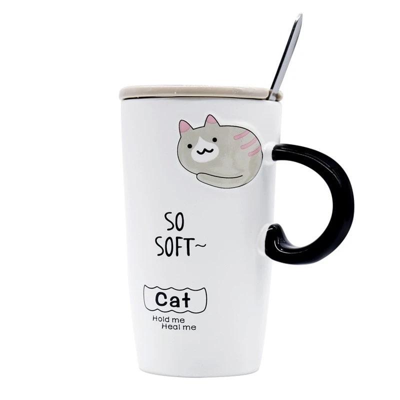 ماگ طرح گربه مدل miu1