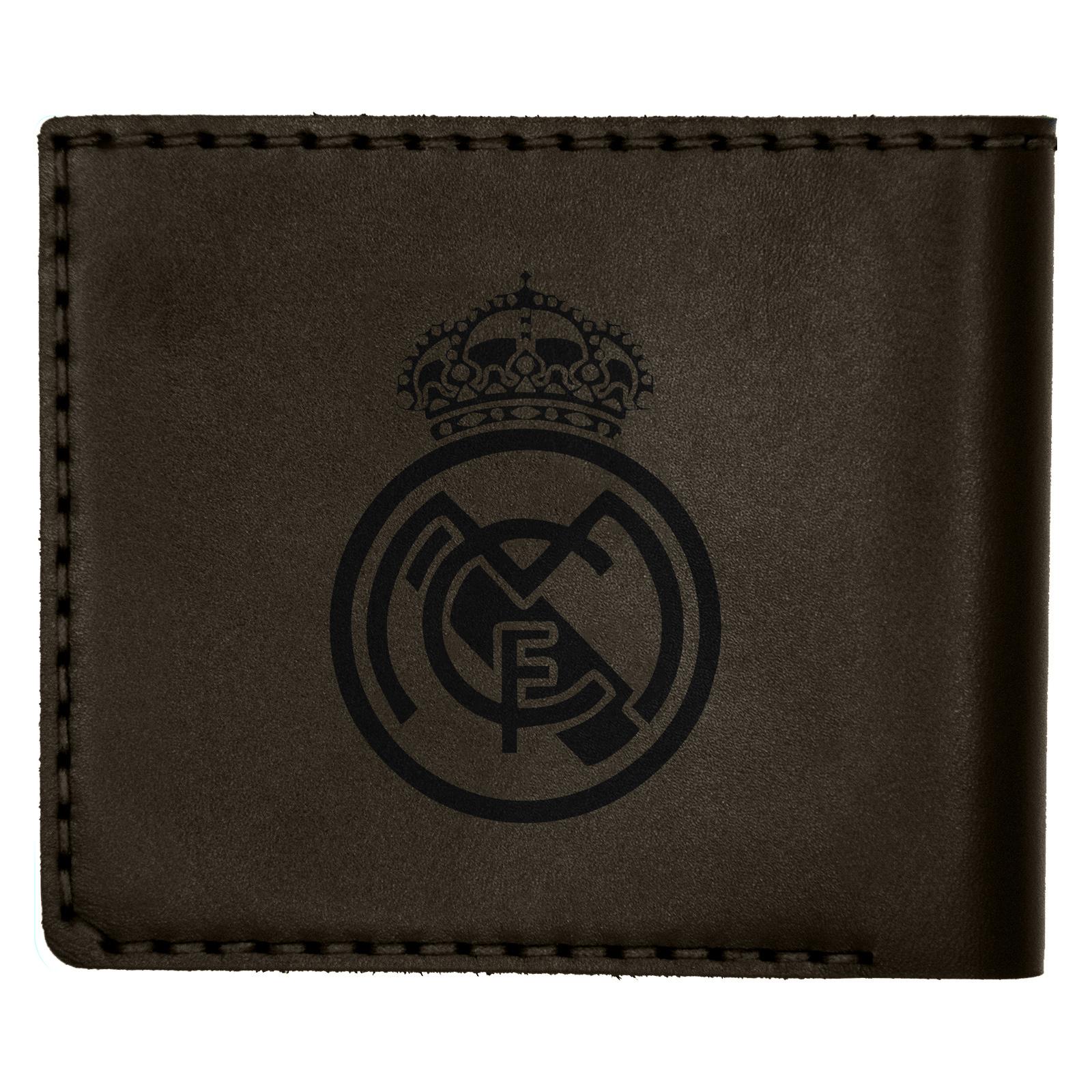 کیف پول چرمینه اسپرت طرح رئال مادرید کد 1007 -  - 1