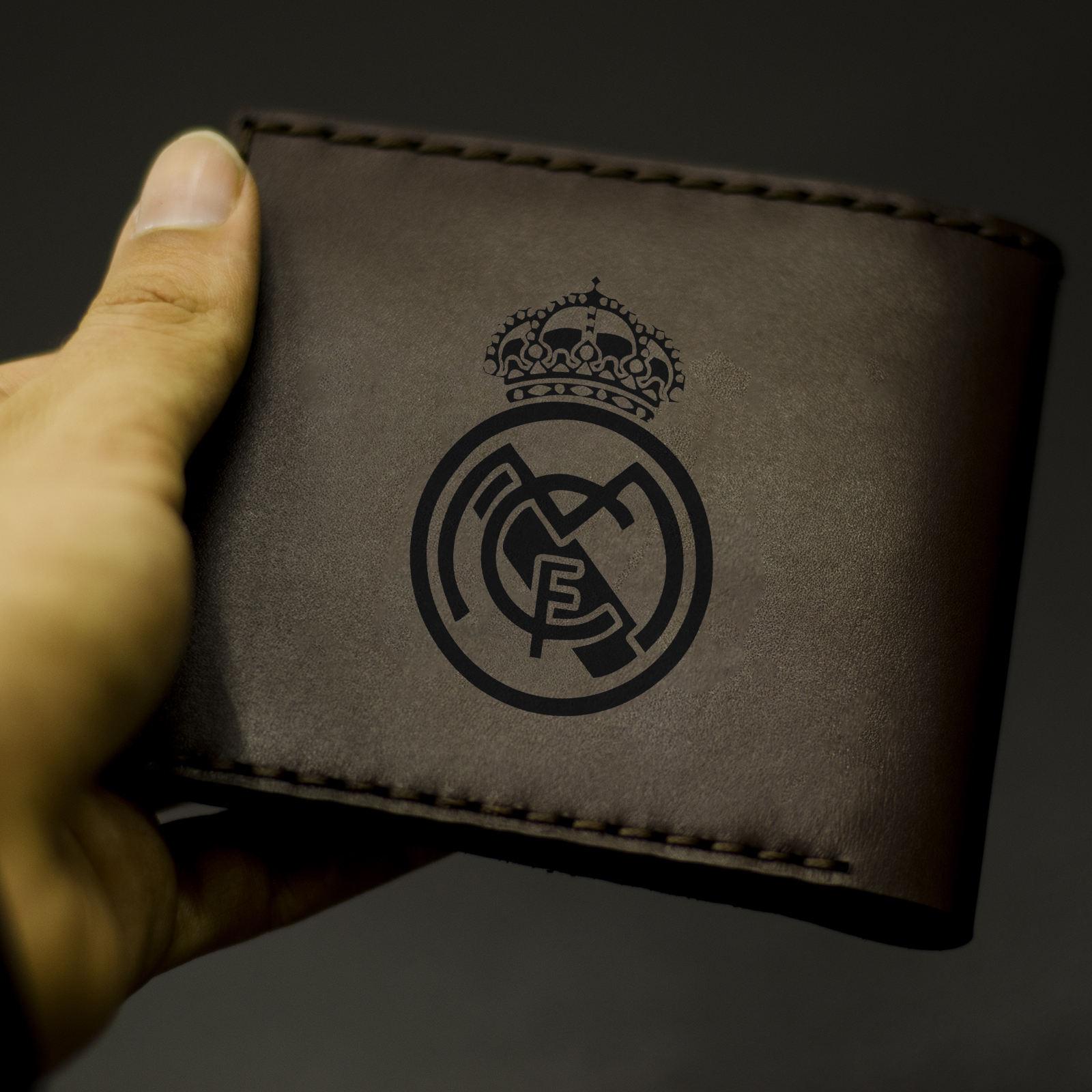کیف پول چرمینه اسپرت طرح رئال مادرید کد 1007 -  - 2