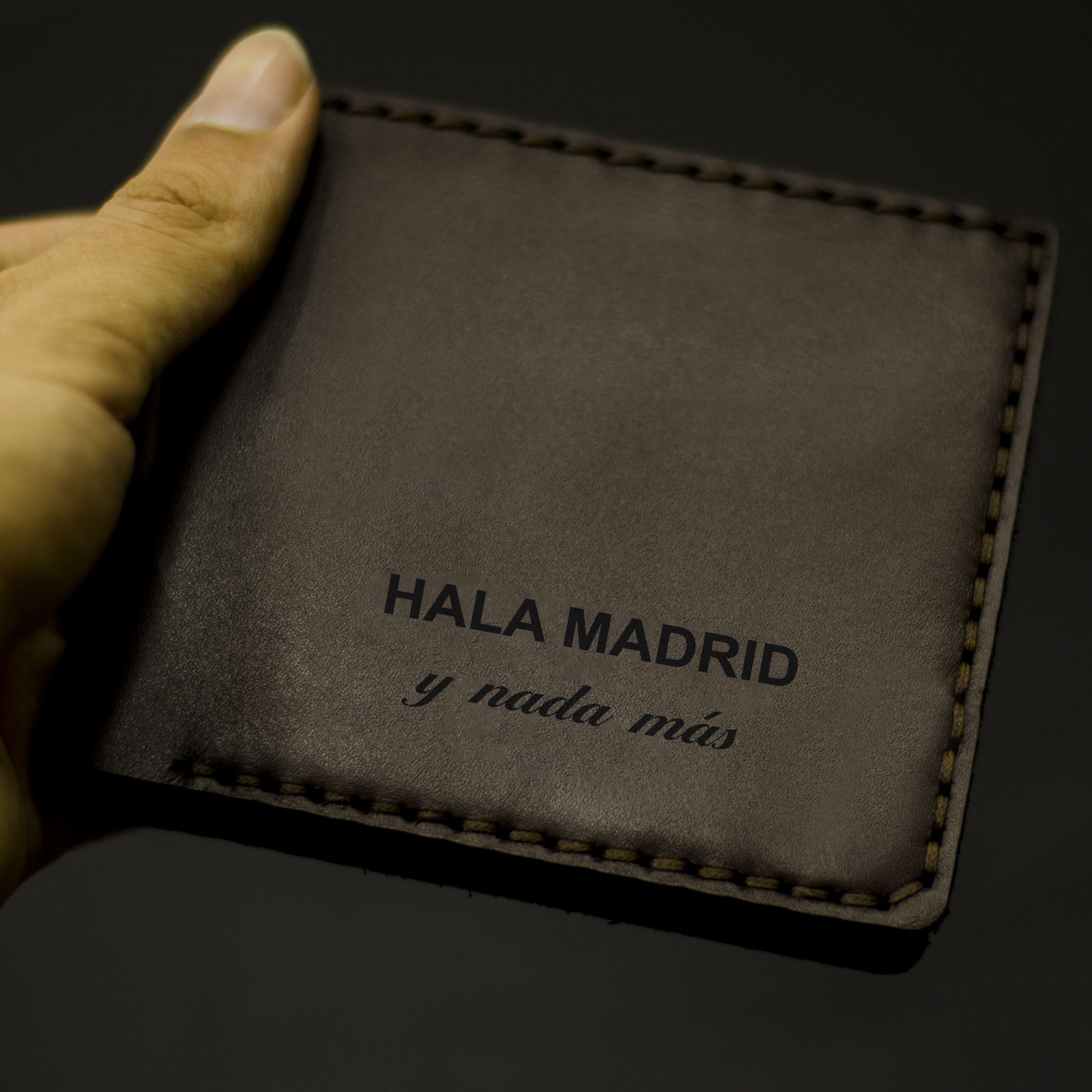 کیف پول چرمینه اسپرت طرح رئال مادرید کد 1007 -  - 3