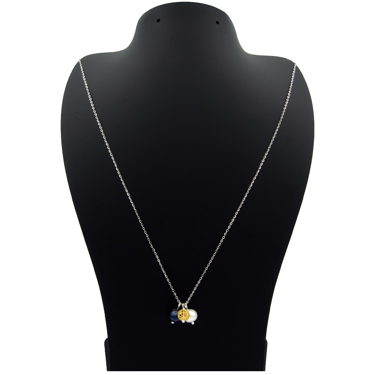 گردنبند طلا  عیار نه مانچو کد sfgs013