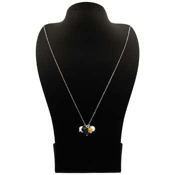 گردنبند طلا 18 عیار زنانه مانچو کد sfgs014