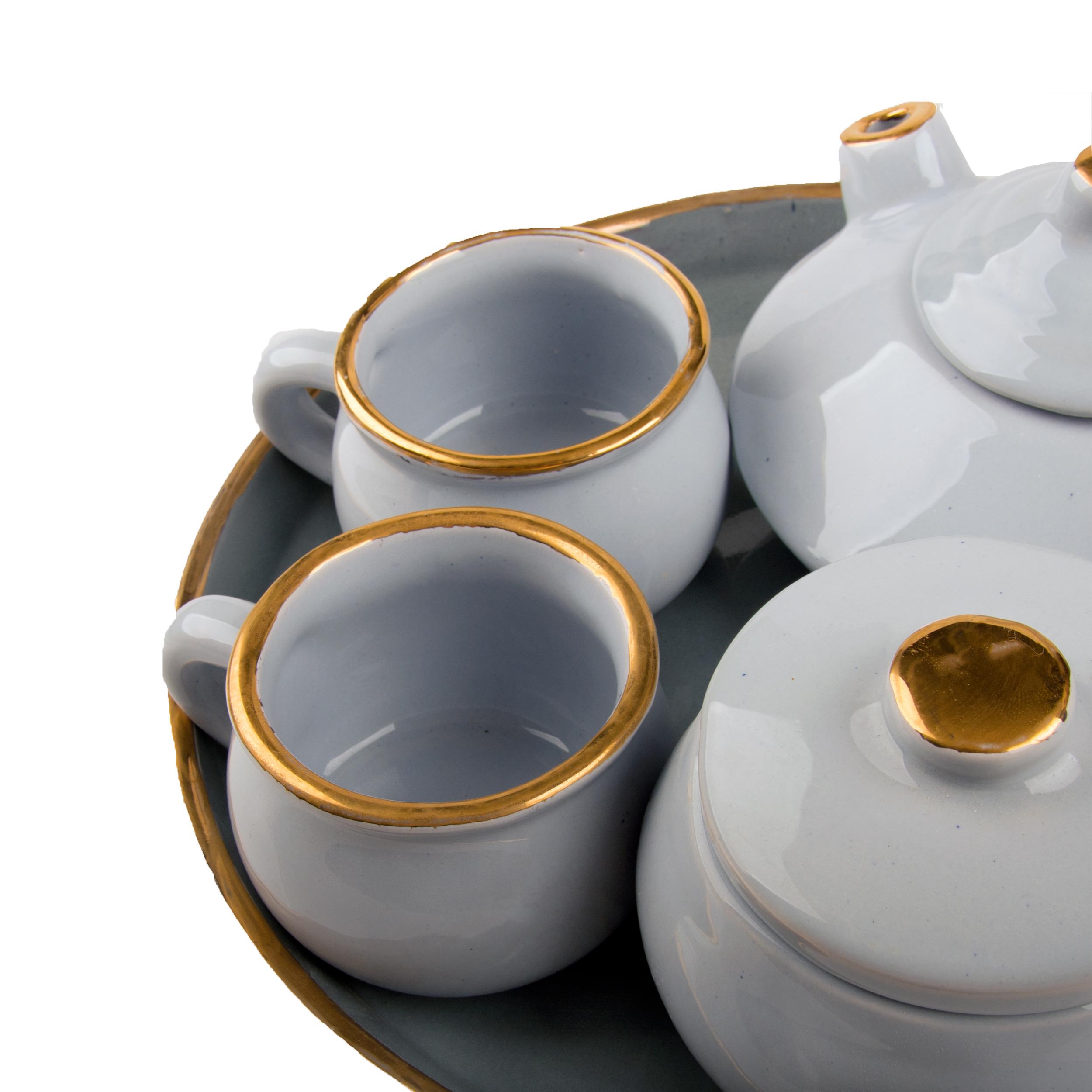 سرویس چای خوری 5 پارچه مدل RO114