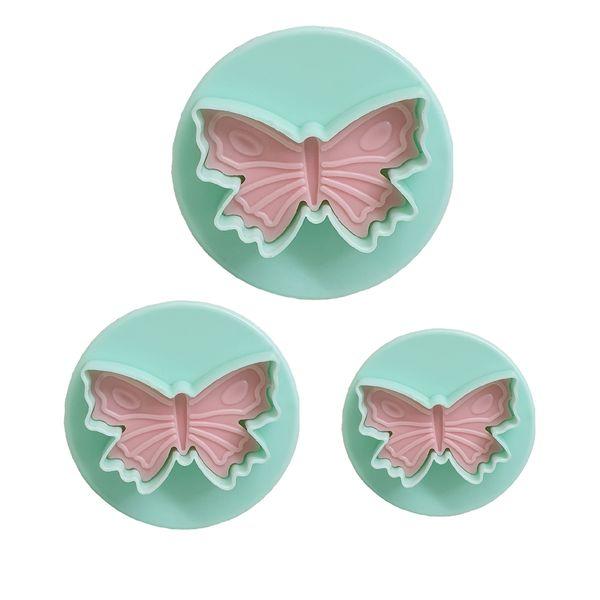 کاتر شیرینی مدل Butterfly-03 بسته 3 عددی