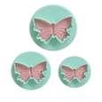کاتر شیرینی مدل Butterfly-03 بسته 3 عددی thumb 1
