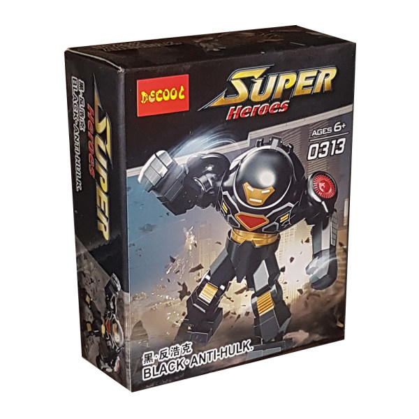 ساختنی دکول مدل سوپر هیرو کد 0313
