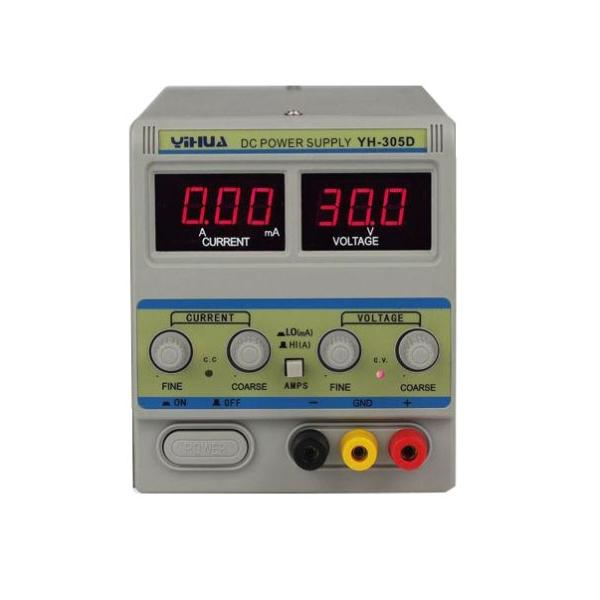 منبع تغذیه ۳۰ ولت ۵ آمپر ییهوا مدل PS-305D