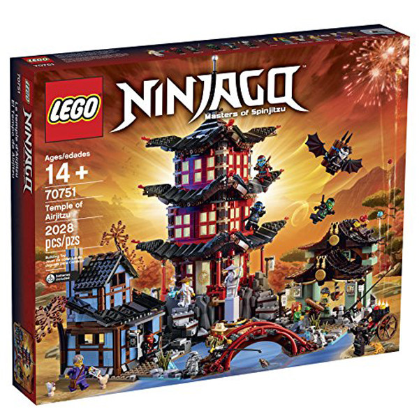 لگو سری Ninjago مدل Temple of Airjitzu and surrounding village