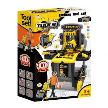 ست اسباب بازی طرح ابزار کد 928-008