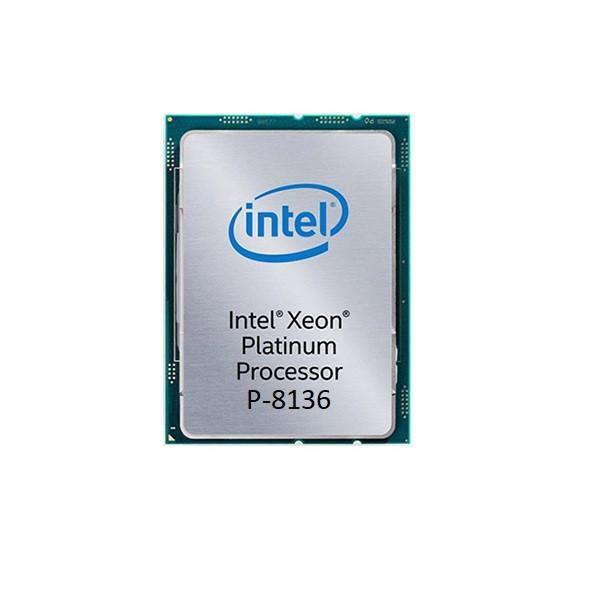 پردازنده مرکزی اینتل سری Xeon مدل Platinum P-8136