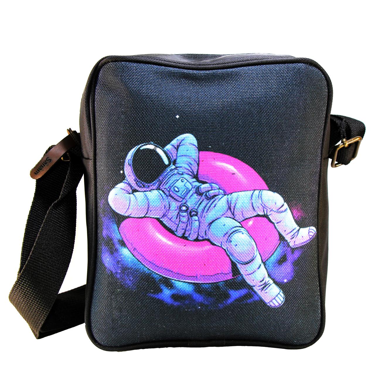 خرید                      کیف رو دوشی صنم مدل فضانورد کد 01