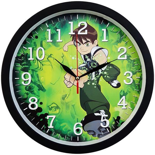ساعت دیواری کودک کد BEN10-Black غیر اصل