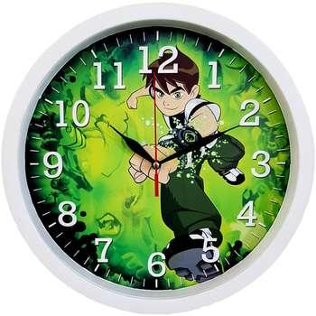 ساعت دیواری کودک  کد BEN10-W-310