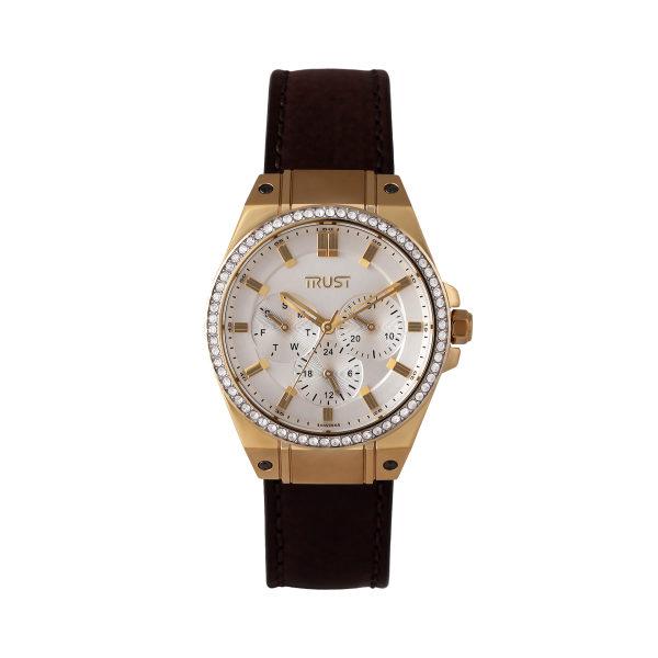 ساعت مچی عقربه ای زنانه تراست مدل G500CUE