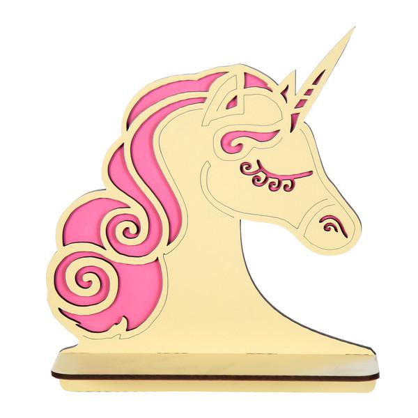 طبقه دیواری کودک مدل unicorn