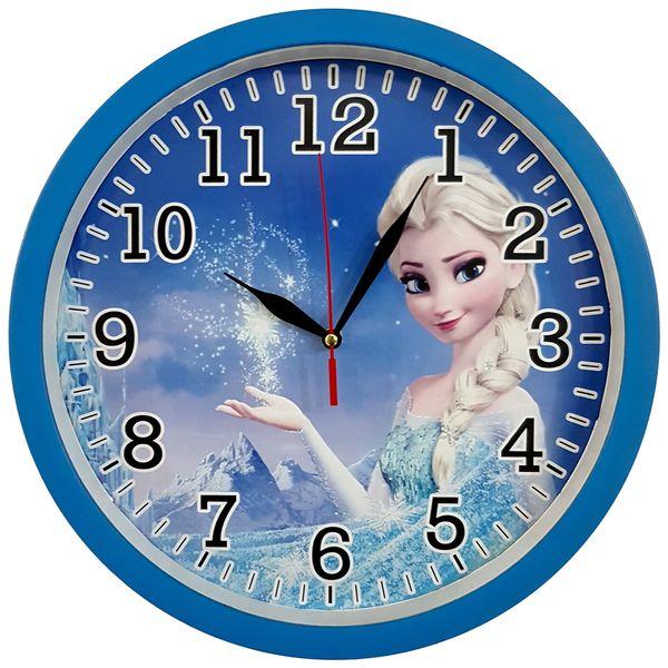 ساعت دیواری کودک کد Frozen-BL-310 غیر اصل