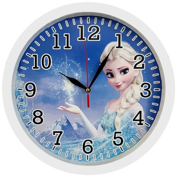 ساعت دیواری کودک کد Frozen-W-310 غیر اصل
