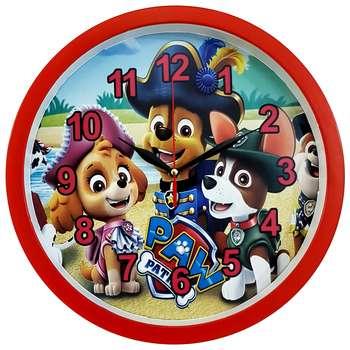 ساعت دیواری کودک  کد 310-DOG-RE