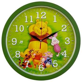 ساعت دیواری کودک  کد 310-POOH-GR