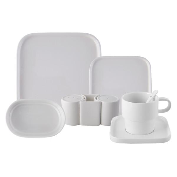 سرویس صبحانه خوری 35 پارچه کاراجا مدل CUBIQUE