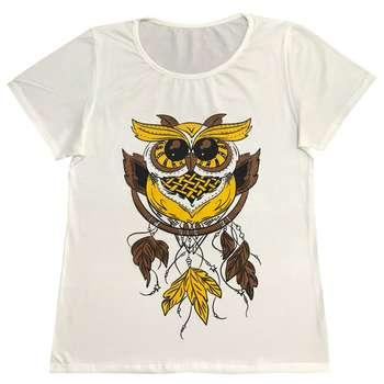 تی شرت زنانه طرح جغد کد 1417
