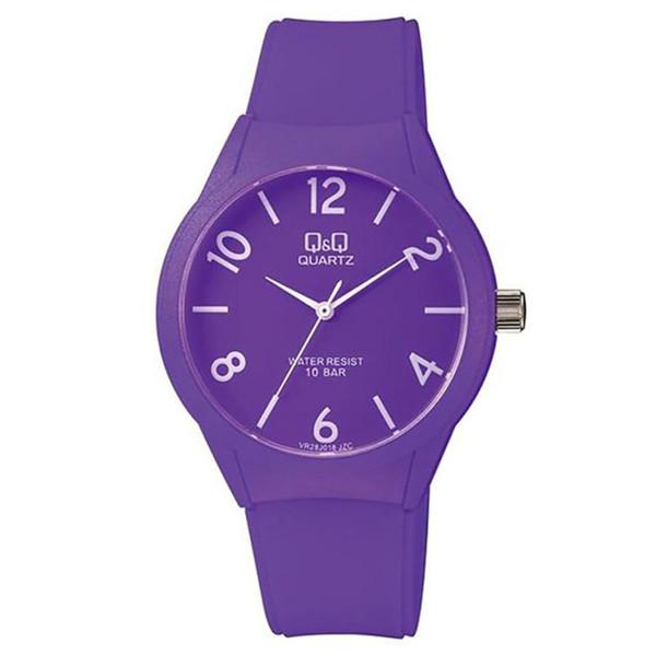 ساعت مچی عقربه ای دخترانه کیو اند کیو مدل.  vr28j018y