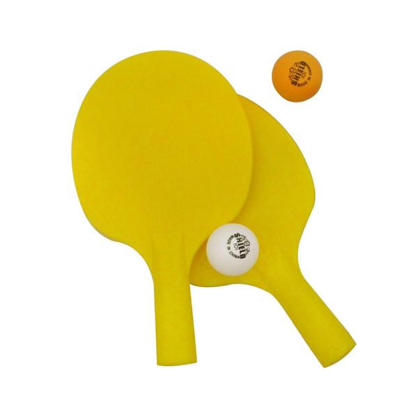راکت پینگ پنگ مدل 22 مجموعه 2 عددی به همراه توپ