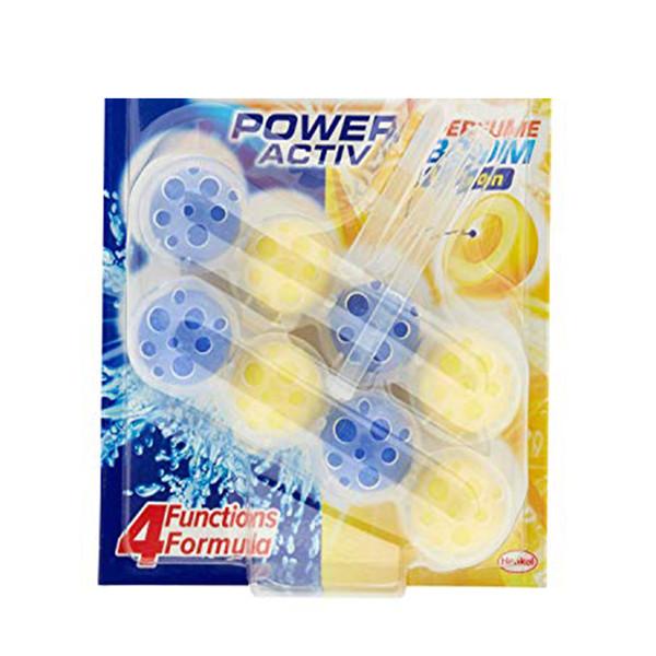 قرص بوگیر توالت فرنگی پاور اکتیو مدل limon بسته دو عددی