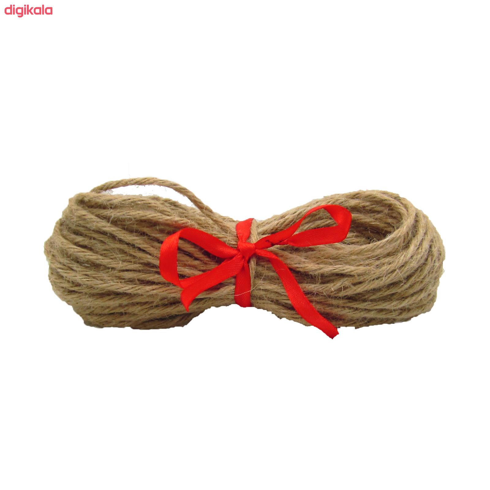 نخ کنفی کد 456 طول 20 متر main 1 1