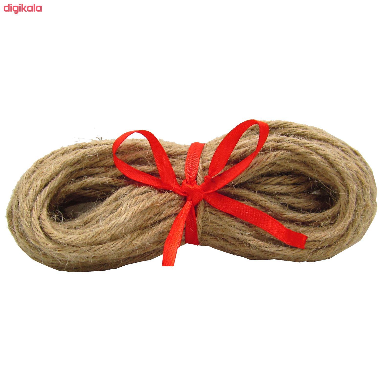 نخ کنفی کد 456 طول 20 متر main 1 3
